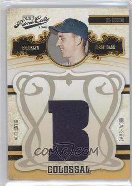 2008 Playoff Prime Cuts - Colossal Materials - Location #21 - Gil Hodges /50
