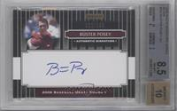 Buster Posey /199 [BGS 8.5 NM‑MT+]