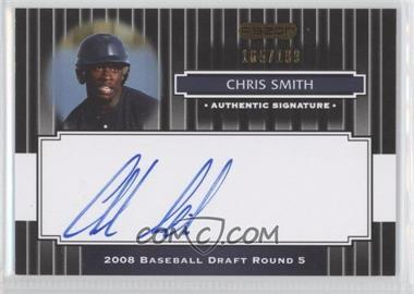 2008 Razor Signature Series - [Base] - Black #150 - Chris Smith /199
