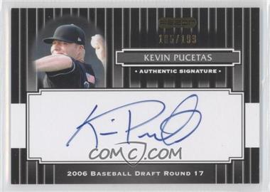 2008 Razor Signature Series - [Base] - Black #189 - Kevin Pucetas /199