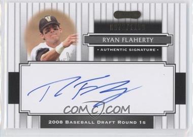 2008 Razor Signature Series - [Base] #135 - Ryan Flaherty /1199