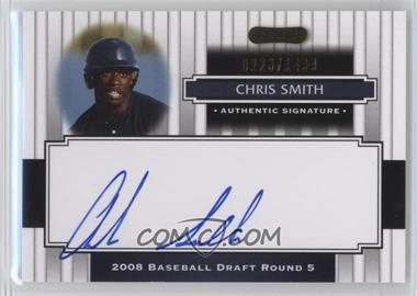 2008 Razor Signature Series - [Base] #150 - Chris Smith /1499
