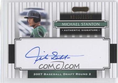 2008 Razor Signature Series - [Base] #197 - Giancarlo Stanton /1199