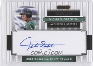 2008 Razor Signature Series - [Base] #197 - Mike Stanton /1199
