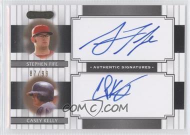 2008 Razor Signature Series - Dual Signatures #DS-11 - Stephen Fife, Casey Kelley /99