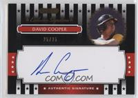 David Cooper /25