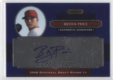2008 Razor Signature Series Metal - Autographs - Blue #AU-BRP - Bryan Price