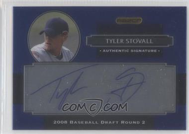 2008 Razor Signature Series Metal - Autographs - Blue #AU-TYS - Tyler Stovall