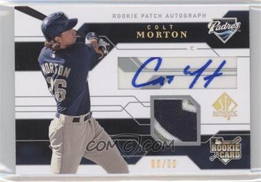 2008 SP Authentic - [Base] - Gold #114 - Colt Morton /50