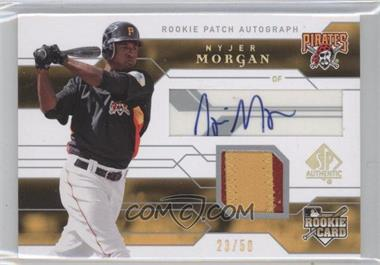 2008 SP Authentic - [Base] - Gold #152 - Nyjer Morgan /50