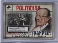 Benjamin Franklin (In 1748, Frankin retired ...) /1