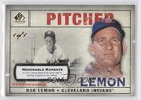Bob Lemon (In 1954, Lemon matched his career high) #/1