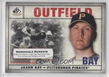 2008 SP Legendary Cuts - [Base] - Memorable Moments #33 - Jason Bay /1