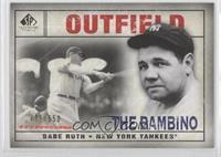 Babe Ruth #/550