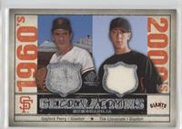 Tim Lincecum, Gaylord Perry