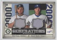 Mike Piazza, Russell Martin