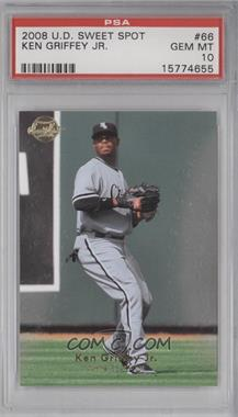 2008 Sweet Spot - [Base] #66 - Ken Griffey Jr. [PSA 10]
