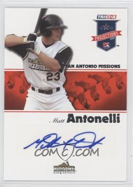 2008 TRISTAR PROjections - [Base] - Autographs [Autographed] #124 - Matt Antonelli