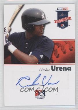 2008 TRISTAR PROjections - [Base] - Autographs [Autographed] #219 - Carlos Urena