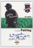 Wendell Fairley #/50
