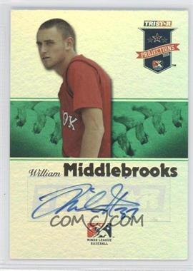 2008 TRISTAR PROjections - [Base] - Green Reflectives Autographs [Autographed] #213 - Will Middlebrooks /50