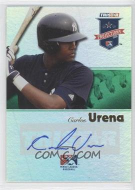 2008 TRISTAR PROjections - [Base] - Green Reflectives Autographs [Autographed] #219 - Carlos Urena /50