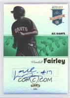 Wendell Fairley /50
