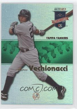 2008 TRISTAR PROjections - [Base] - Green Reflectives #45 - Marcos Vechionacci /50
