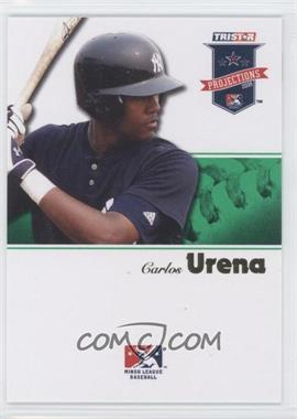 2008 TRISTAR PROjections - [Base] - Green #219 - Carlos Urena /50