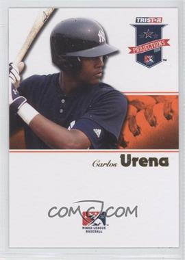 2008 TRISTAR PROjections - [Base] - Orange #219 - Carlos Urena /5