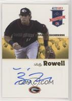 Billy Rowell #/25