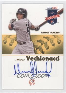 2008 TRISTAR PROjections - [Base] - Yellow Autographs [Autographed] #45 - Marcos Vechionacci /25