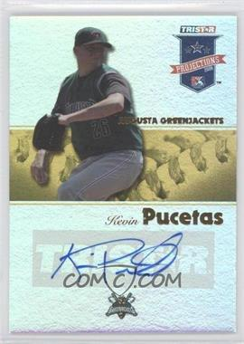2008 TRISTAR PROjections - [Base] - Yellow Reflectives Autographs [Autographed] #118 - Kevin Pucetas /25