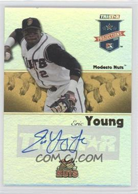 2008 TRISTAR PROjections - [Base] - Yellow Reflectives Autographs [Autographed] #204 - Eric Young Jr. /25