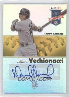 2008 TRISTAR PROjections - [Base] - Yellow Reflectives Autographs [Autographed] #45 - Marcos Vechionacci /25