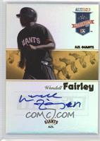 Wendell Fairley #/25