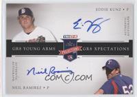 Eddie Kunz, Neil Ramirez #/25
