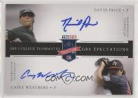 David Price, Casey Weathers #/5