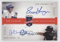 Evan Longoria, Chris Carter /25