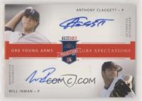 Anthony Claggett, Will Inman [EXtoNM] #/5