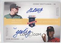 Johnny Whittleman, John Mayberry Jr. /25