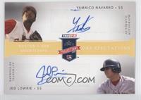 Yamaico Navarro, Jed Lowrie /25