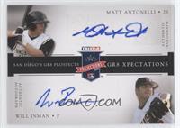 Matt Antonelli, Will Inman #/50