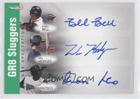 Wes Hodges, Bubba Bell, Juan Francisco /50