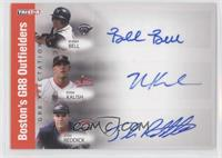 Ryan Kalish, Josh Reddick, Bubba Bell /25
