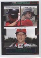 Tyler Yockey, Bryan Peterson, Jonathan Hee /50