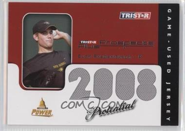 2008 TRISTAR Prospects Plus - PROtential Game Used #P-EF - Evan Frederickson /199