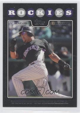 2008 Topps - [Base] - Black #11 - Yorvit Torrealba /57