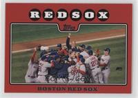 Boston Red Sox Team (Rudy Guiliani Red Border)
