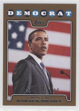 2008 Topps - Campaign 2008 - Gold #C08-BO - Barack Obama